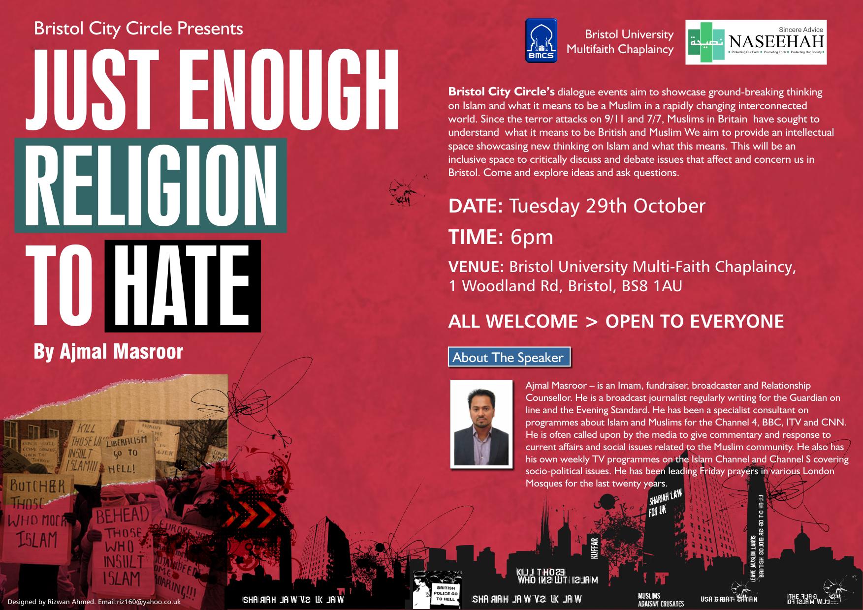 Enough Religion Hate