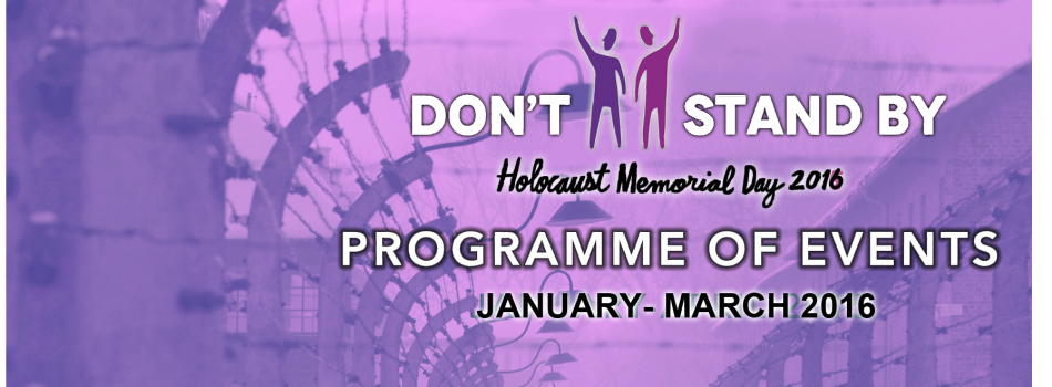 Wednesday 27 January – Holocaust Memorial Day Civic Commemoration